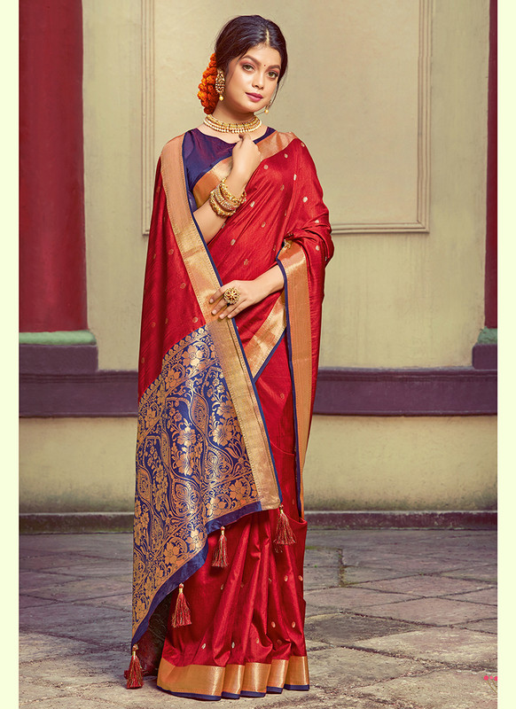 Sareetag Sangam Roop Sundari Pretty Wedding Saree