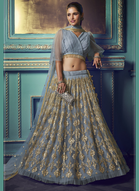 Sareetag Arya Cinderella Pretty Wedding Lehenga Choli