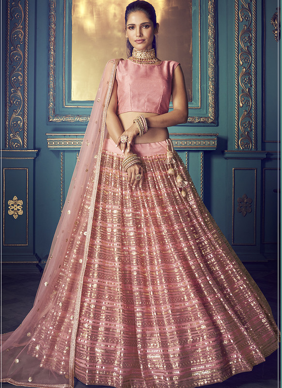 Sareetag Arya Cinderella Graceful Wedding Lehenga Choli
