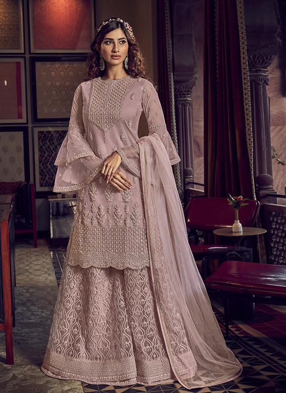 Sareeetag PinkDesigner Party Wear Salwar Suit
